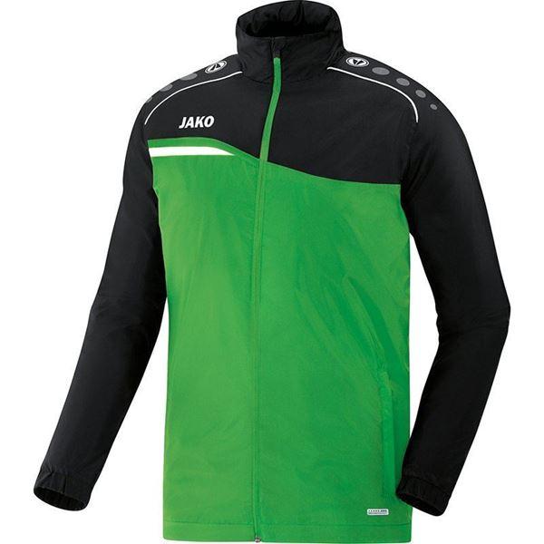 Afbeelding van JAKO Competition Regenjas - Groen - Zwart