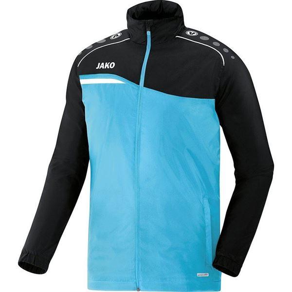 Afbeelding van JAKO Competition Regenjas - Lichtblauw - Zwart