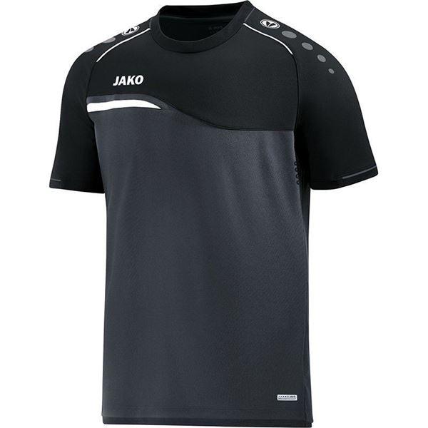 Afbeelding van Jako Competition Shirt - Antraciet - Zwart
