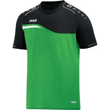 Afbeeldingen van Jako Competition Shirt - Groen - Zwart - Kinderen