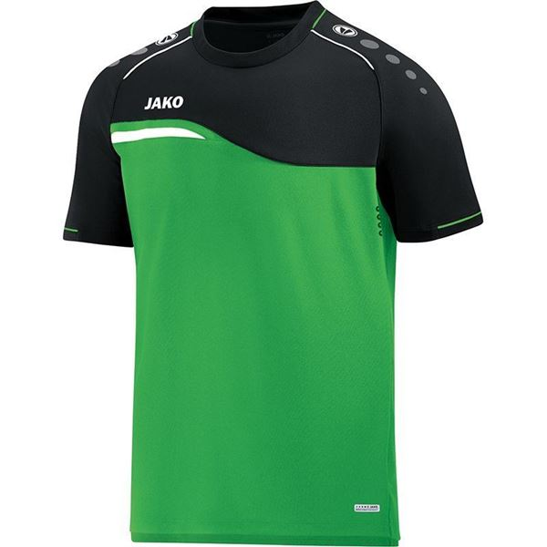 Afbeelding van Jako Competition Shirt - Groen - Zwart - Kinderen