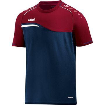 Afbeeldingen van Jako Competition Shirt - Navy - Blauw -Rood - Kinderen