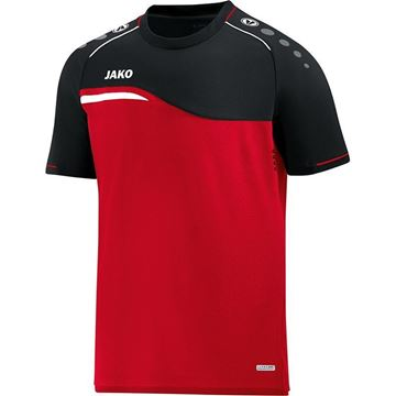 Afbeeldingen van Jako Competition Shirt - Rood - Zwart - Kinderen