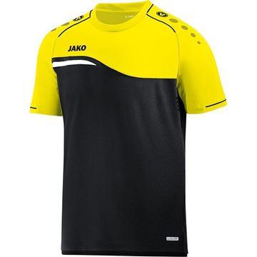 Afbeeldingen van Jako Competition Shirt - Zwart - Geel - Kinderen