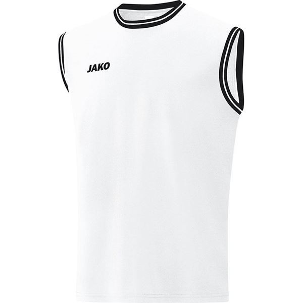 Afbeelding van JAKO Center 2.0 Basketbal Shirt - Wit/Zwart