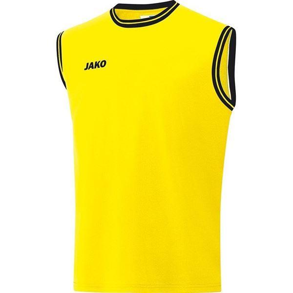 Afbeelding van JAKO Center 2.0 Basketbal Shirt - Geel/Zwart