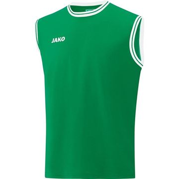 Afbeeldingen van JAKO Center 2.0 Basketbal Shirt - Groen/Wit