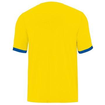 Afbeeldingen van JAKO Porto 2.0 Shirt - Geel/Blauw - Kinderen