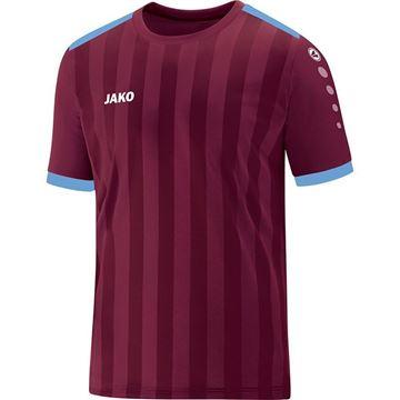 Afbeeldingen van JAKO Porto 2.0 Shirt - Bordeaux/Lichtblauw
