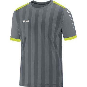 Afbeeldingen van JAKO Porto 2.0 Shirt - Grijs/Geel