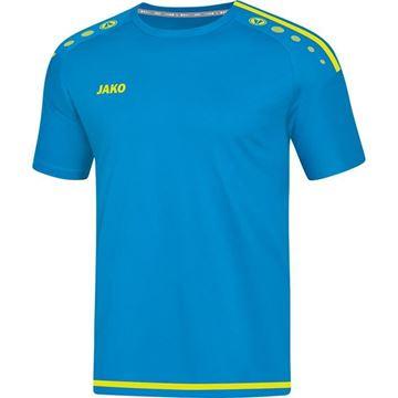 Afbeeldingen van JAKO Striker 2.0 Shirt - Blauw/Geel