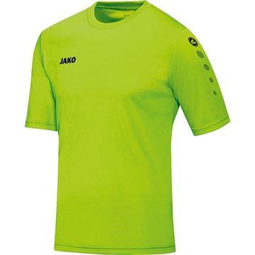 Afbeeldingen van JAKO Team Shirt - Fluo Groen - Kinderen