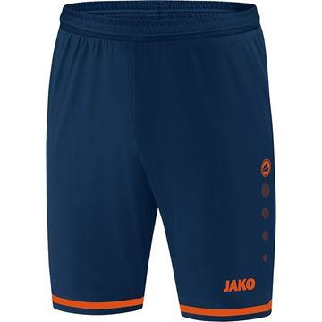 Afbeeldingen van JAKO Striker 2.0 Short - Navy/Oranje