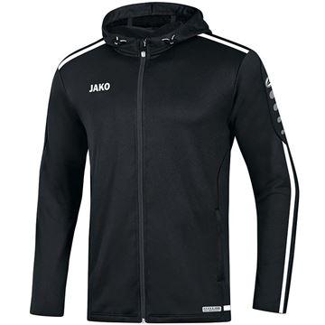 Afbeeldingen van JAKO Striker 2.0 Hooded Trainingsjack - Zwart/ Wit