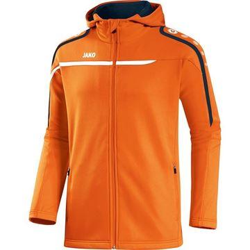 Afbeeldingen van JAKO Performance Hooded Trainingsjack - Oranje - Kinderen